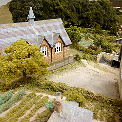 Model of Upper School, now Snell's Hall - the Village Hall thumbnail