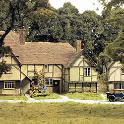 Model of The Old Vicarage
